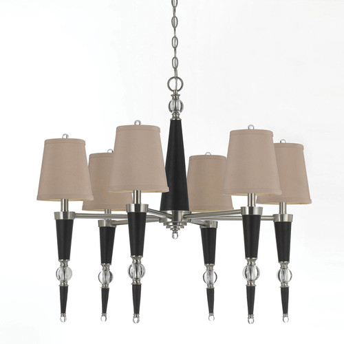 Candice Olson 8235-6H Hollace Transitional Chandelier