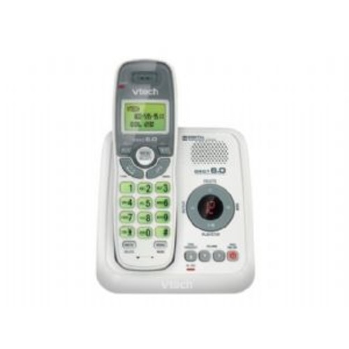VTech CS6124 - Cordless phone - answering system with caller ID/call waiting - DECT 6.0