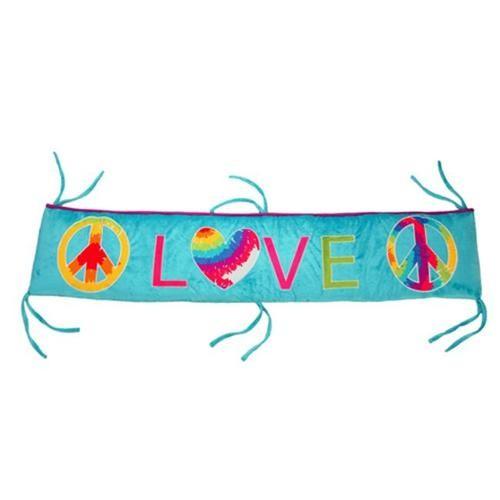 One Grace Place Terrific Tie Dye Crib Bumper/Rail Cover