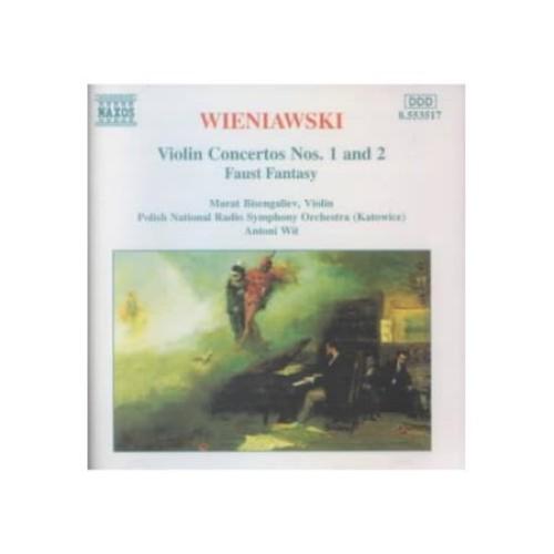 Wieniawski: Violin Concertos Nos. 1 & 2 [CD]