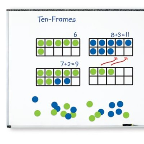 Learning Resources 45-Piece Giant Magnetic Ten-Frame Set