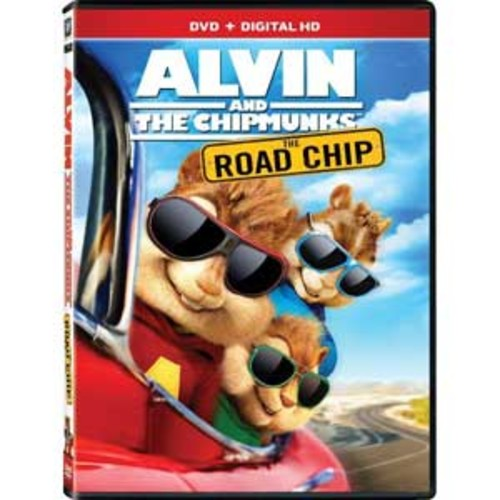 Alvin and the Chipmunks: The Road Chip [DVD] [Digital HD]