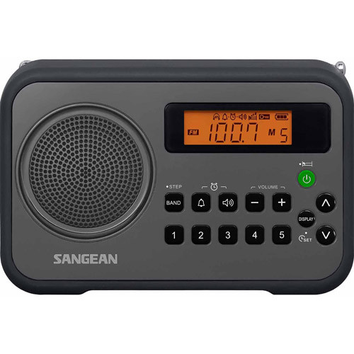 Sangean AM FM Clock Digital Radio