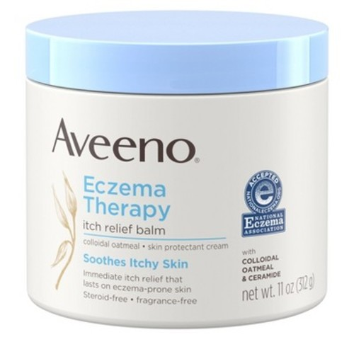 Aveeno Eczema Therapy Itch Relief Balm, 11 Ounce [11 Ounce, Itch Relief Balm]