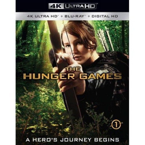 The Hunger Games [4K UHD] [Blu-Ray] [Digital HD]