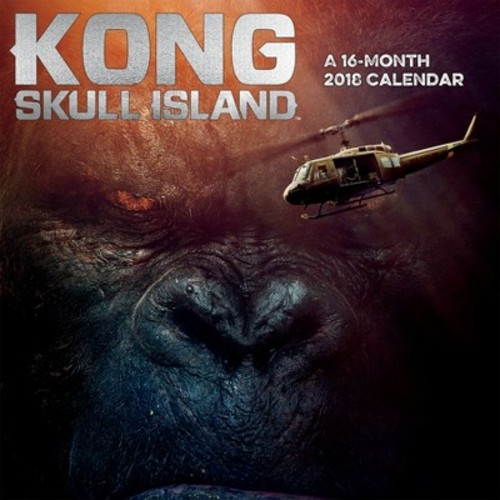 2018 Kong Skull Island Wall Calendar - Trends International