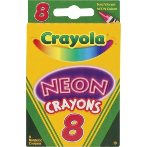 Crayola Neon Crayons, 8/Pack
