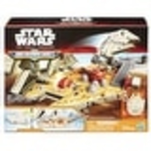 Star Wars The Force Awakens Micromachines Millennium Falcon Playset - multi