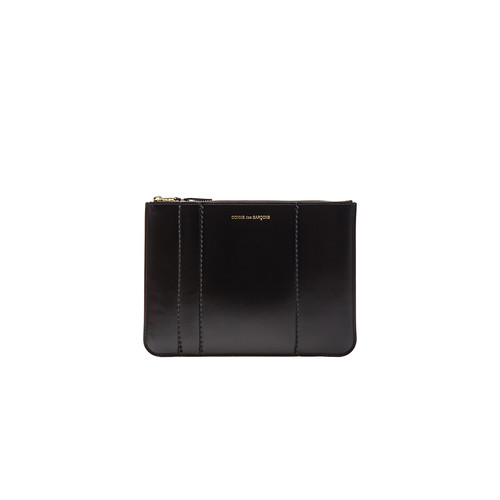 Comme Des Garcons Raised Spike Pouch in Black