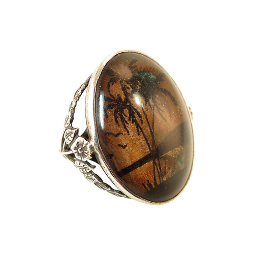 Arts & Crafts Butterfly Wing Ring