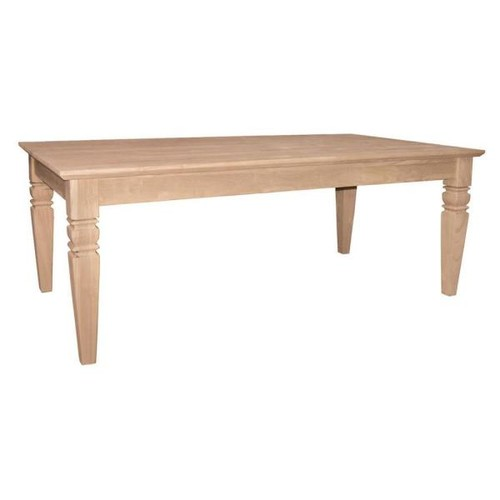 International Concepts Java Unfinished Coffee Table