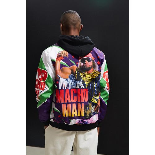 Chalk Line WWE Macho Man Fanimation Bomber Jacket [REGULAR]