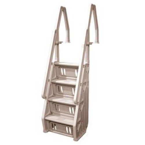 Vinyl Works Taupe Deluxe 24-inch In-pool Steps for Above Ground Pools