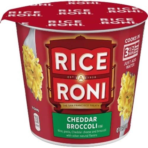Rice A Roni Cheddar Broccoli Rice Cup - 2.11oz