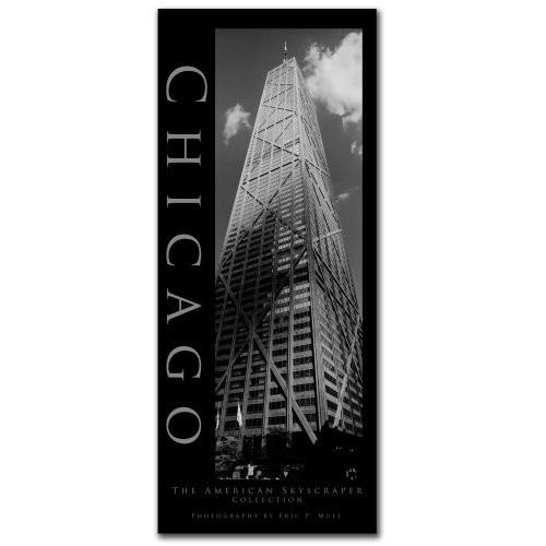 Chicago II by Preston, 10x24-Inch Canvas Wall Art [10x24-Inch]