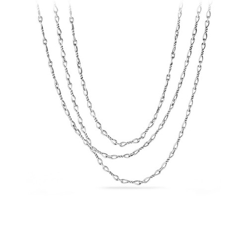 Continuance Small Sterling Silver Chain Necklace, 72