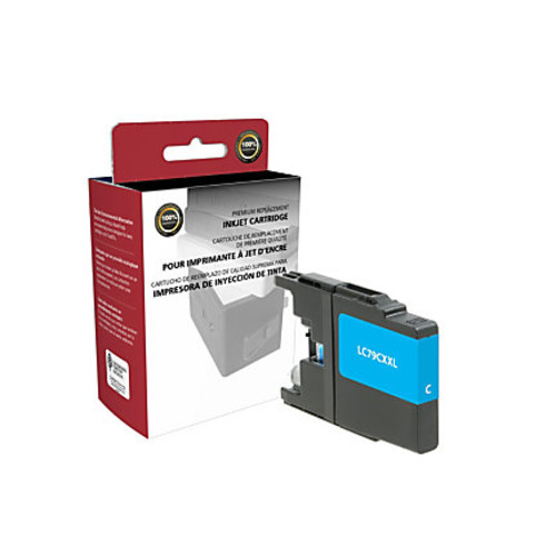 Clover Technologies Group High-Yield Remanufactured Ink Cartridge, Cyan, 118008 (Brother LC79C)
