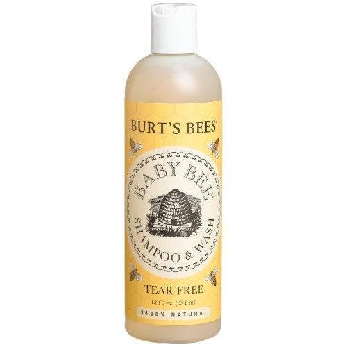 Burt's Bees Baby Bee Shampoo & Wash, Tear Free, 12-Ounce Bottles