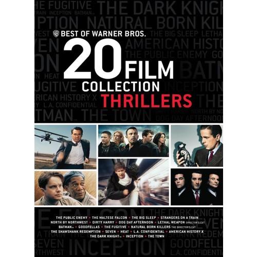 Best of Warner Bros.: 20 Film Collection - Thrillers [20 Discs] [DVD]