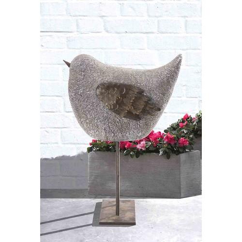 Sunjoy Whimsical Garden Sparrow Statue, 23