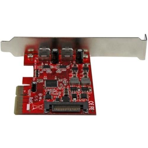 StarTech.com 2 Port USB 3.1 (10Gbps) Card - 2x USB-C - PCIe - USB C Gen 2 - USB Type-C Card - PCI Express USB Type C Controller (PEXUSB312C)