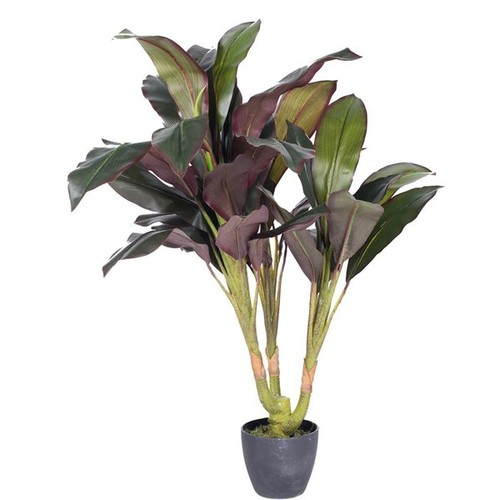 Real Touch Floor Dracaena Plant in Pot