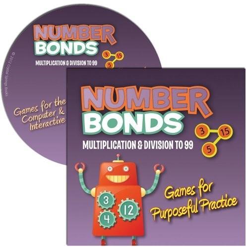 Number Bonds: Multiplication & Division to 99