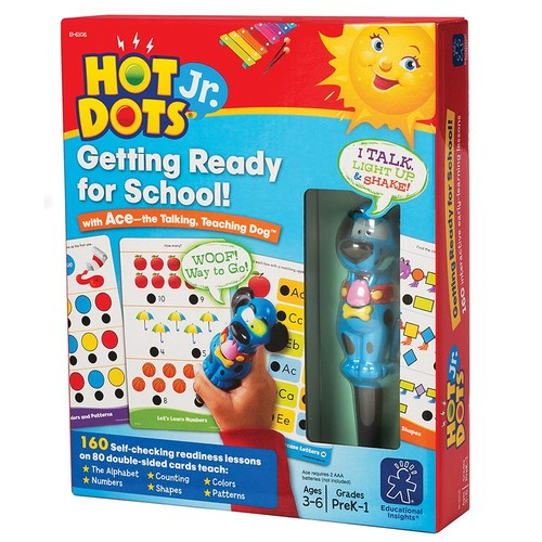 Educational Insights Hot Dots Jr. Getting Ready For School Set with Ace Pen [1]
