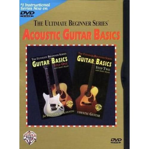 The Ultimate Beginner Series: Acoustic Guitar Basics (The Ultimate Beginner Series) (dvd_video)
