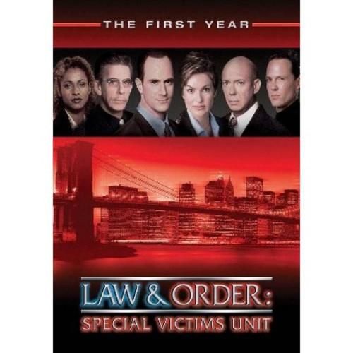 Law & order:Svu season 1 (DVD)