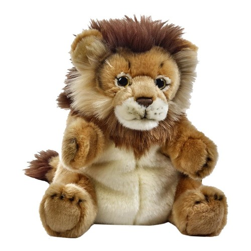 National Geographic Lelly Plush Hand Puppet - Lion