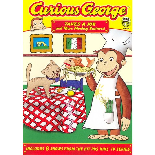 Curious George: Takes a Job and More Monkey Business [DVD]