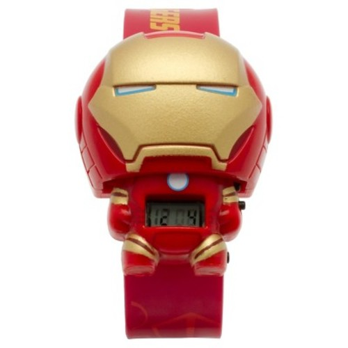 BulbBotz Marvel Kids Iron Man Light-up Watch - Red