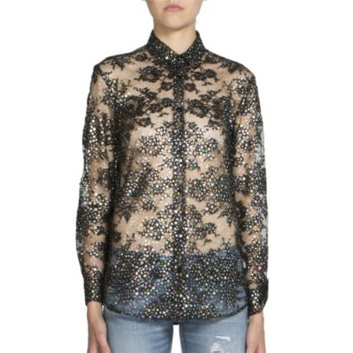 SAINT LAURENT Star Printed Blouse