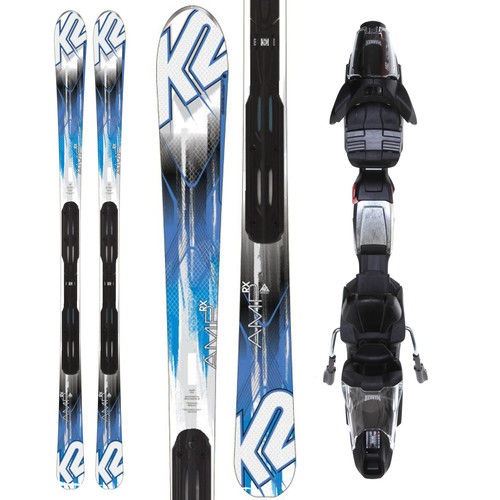 K2 Amp RX Skis w\/ Marker Fastrack3 10 Bindings