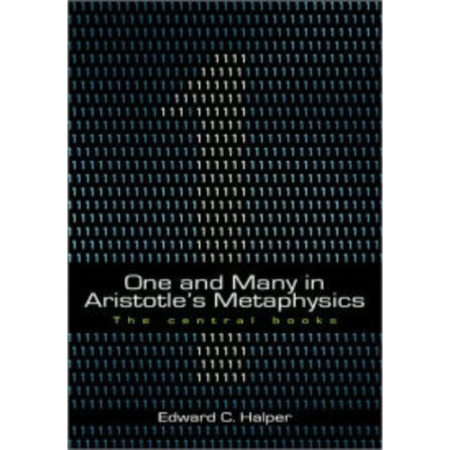 One and Many in Aristotle's Metaphysics: The Central Books