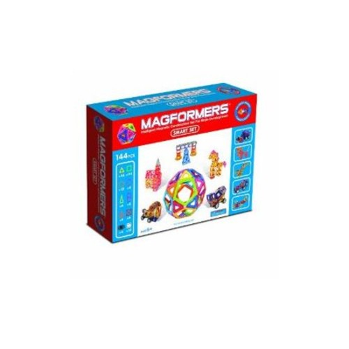 Magformers Smart Set 144 Pieces Multi-Colored