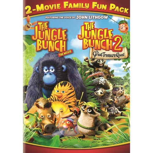 The Jungle Bunch 2-Movie Family Fun Pack [DVD]
