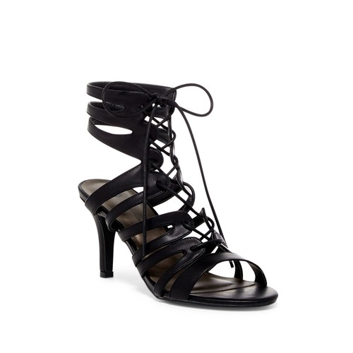 France Caged Heel Sandal