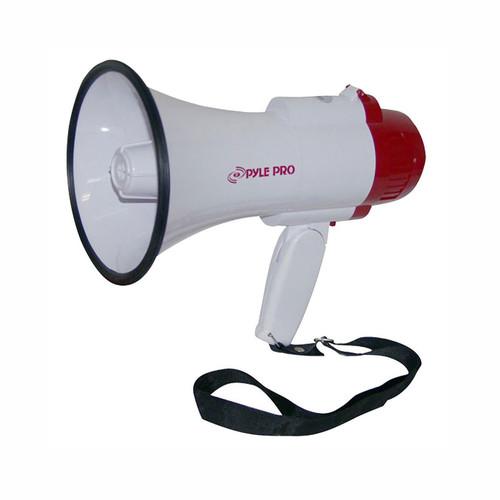 Pyle 97076254M PMP35R Professional Megaphone / Bullhorn w/ Siren & Voice Recorder