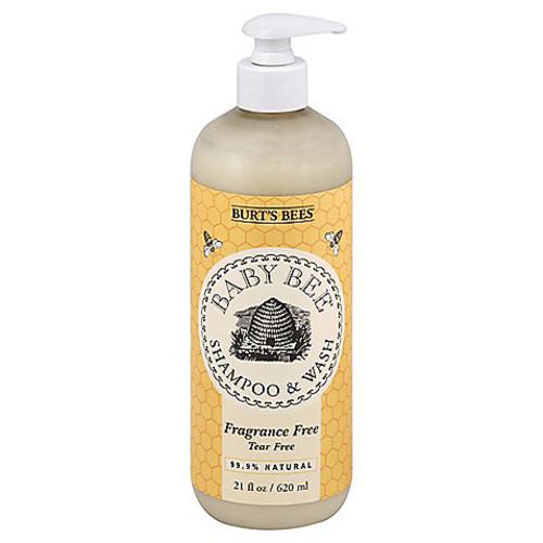 Burt's Bees Baby Bee 21 oz. Fragrance-Free Baby Shampoo & Wash