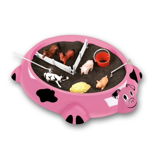 Be Good Co Sandbox Critters Play Set - Piggy Farm