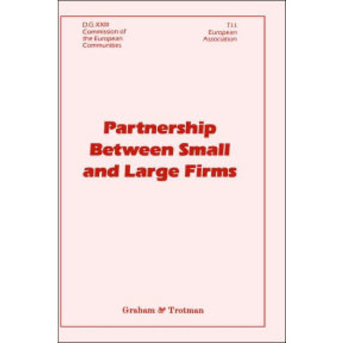 Partnership Between Small and Large Firms / Edition 1