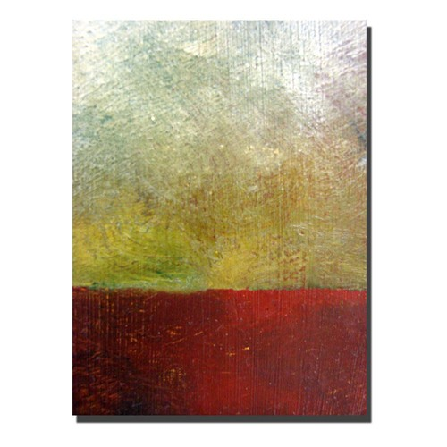 Trademark Global Michelle Calkins 'Earth Study I' Canvas Art [Overall Dimensions : 35x47]