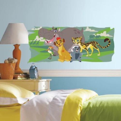 The Lion Guard and Friends Peel and Stick Giant Wall Decal