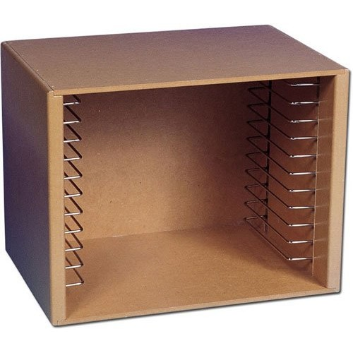 Melissa & Doug Natural Wood Puzzle Storage Case (Holds 12 Puzzles)