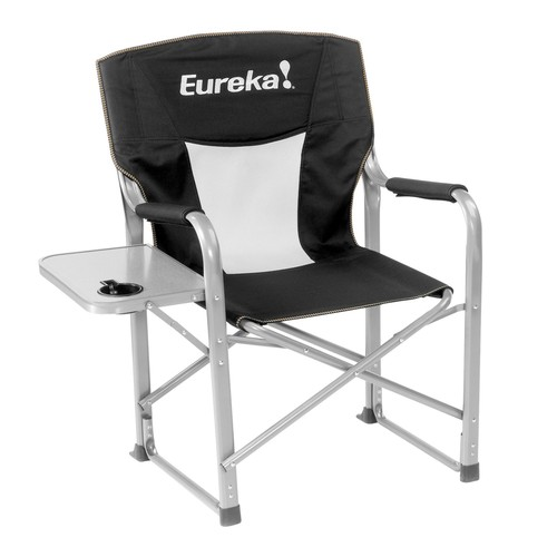 Eureka Cecil B. Dechair Camp Chair with Side Table