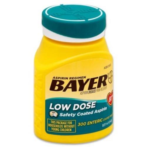 Aspirin Regimen Bayer 300-Count Low Dose 81mg