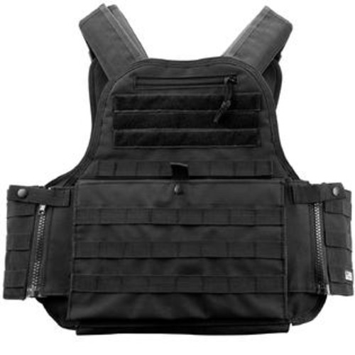 Barska Loaded Gear VX-500 Plate Carrier Tactical Vest-Black per EA