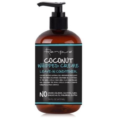 Renpure Coconut Whipped Creme Leave-In Conditioner, 16 oz (Pack of 6)